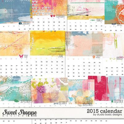 2015 Calendar by Studio Basic