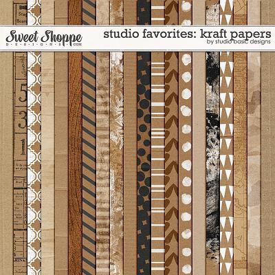 Studio Favorites: Kraft by Studio Basic