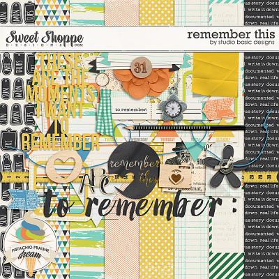 Remember This by Studio Basic