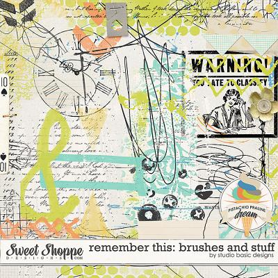 Remember This: Brushes And Stuff by Studio Basic