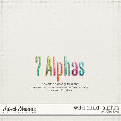Wild Child: ALPHAS by Studio Flergs