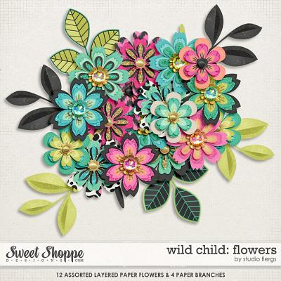 Wild Child: FLOWERS by Studio Flergs