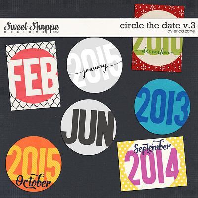 Circle the Date v.3 by Erica Zane