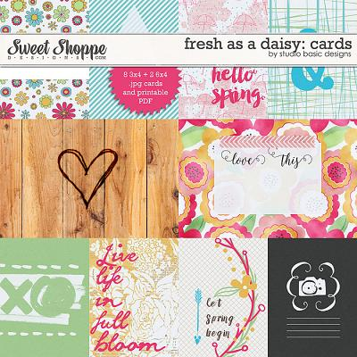 Fresh As A Daisy: Cards by Studio Basic