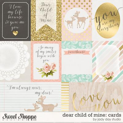 Dear Child of Mine: Cards by Jady Day Studio