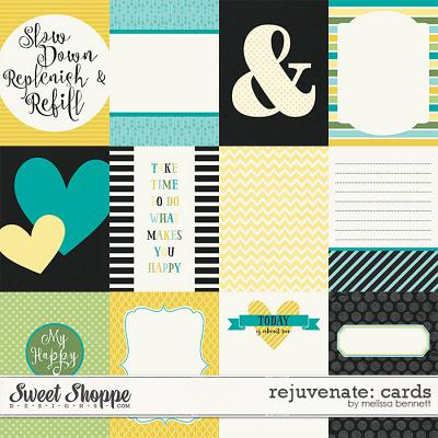 Rejuvenate-Cards by Melissa Bennett