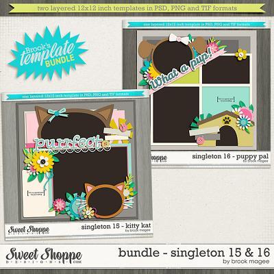 Brook's Templates - Bundle - Singleton 15 & 16 by Brook Magee