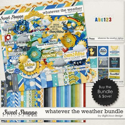 Whatever the Weather Bundle by Digilicious Design