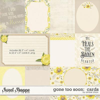 Gone Too Soon: Cards by Amber Shaw