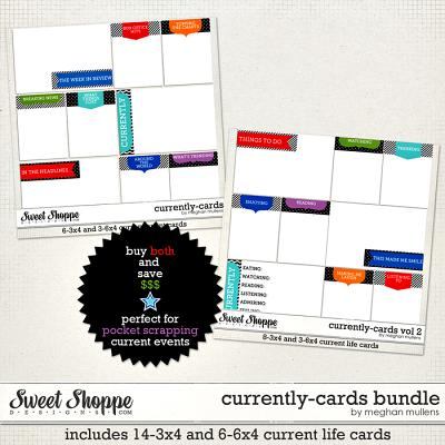 Currently-Cards Bundle by Meghan Mullens