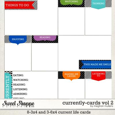 Currently-Cards Vol 2 by Meghan Mullens