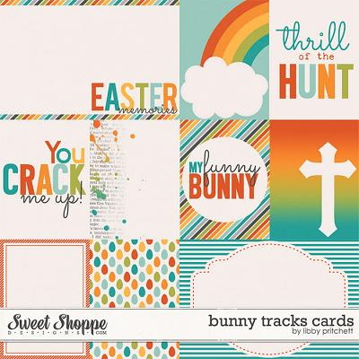 Bunny Tracks Cards by Libby Pritchett
