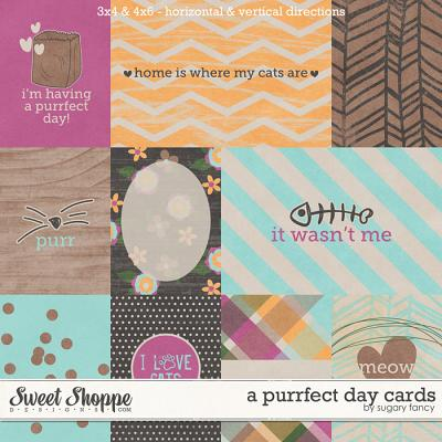A Purrfect Day Cards by Sugary Fancy