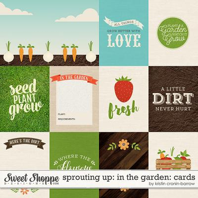 Sprouting Up: In the Garden: Cards by Kristin Cronin-Barrow