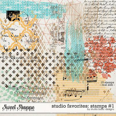 Studio Favorites: Stamps #1 by Studio Basic