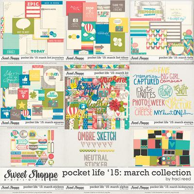 Pocket Life '15: March Collection by Traci Reed