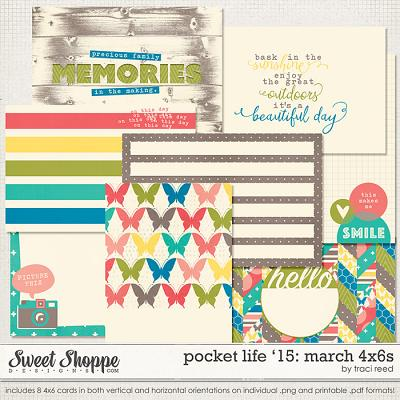 Pocket Life '15: March 4x6s by Traci Reed