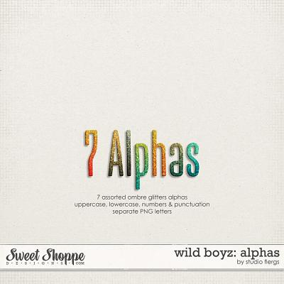 Wild Boyz: ALPHAS by Studio Flergs