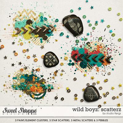 Wild Boyz: SCATTERZ by Studio Flergs