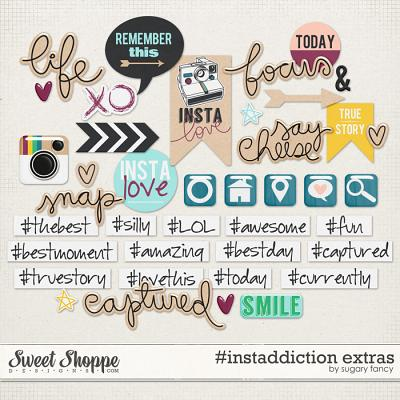 #instaddiction Extras by Sugary Fancy