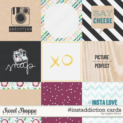 #instaddiction Cards by Sugary Fancy