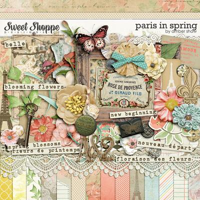 Paris Spring by Amber Shaw