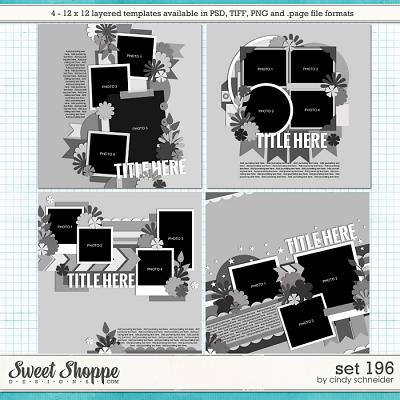 Cindy's Layered Templates - Set 196 by Cindy Schneider