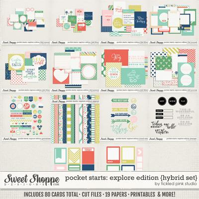 Pocket Starts: Explore Edition Hybrid Set by Tickled Pink Studio