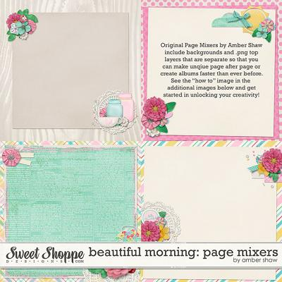 Beautiful Morning: Page Mixers by Amber Shaw
