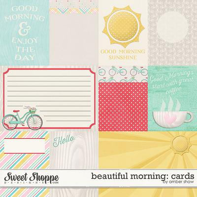 Beautiful Morning: Cards by Amber Shaw