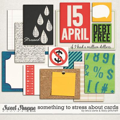 Something to Stress About Cards by Erica Zane & Libby Pritchett