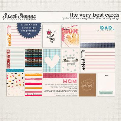 The Very Best Cards by Studio Basic and Little Butterfly Wings