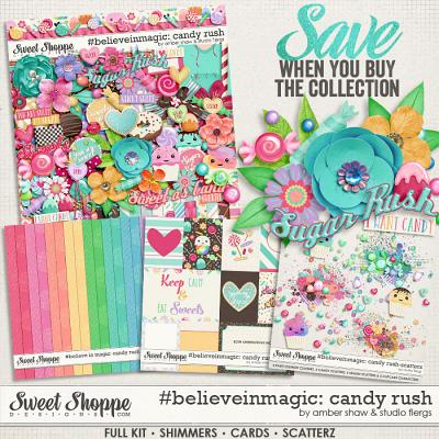 #believeinmagic:  Candy Rush - Collection