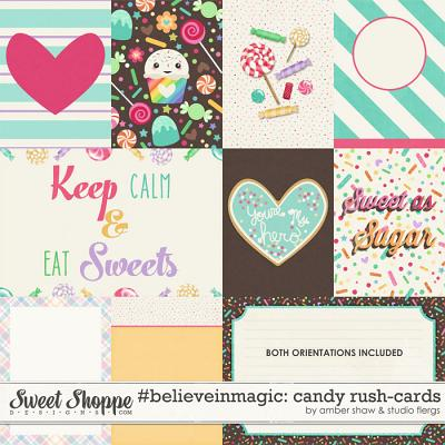 #believeinmagic:  Candy Rush - Cards