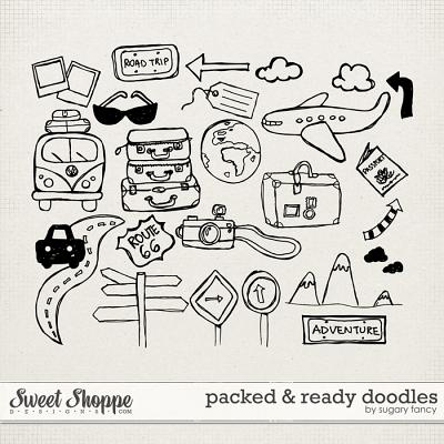 Packed & Ready Doodles by Sugary Fancy