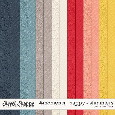 #Moments: Happy - Shimmers by Amber Shaw