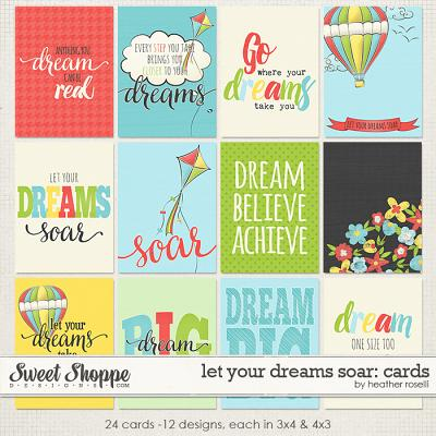 Let Your Dreams Soar: Cards by Heather Roselli