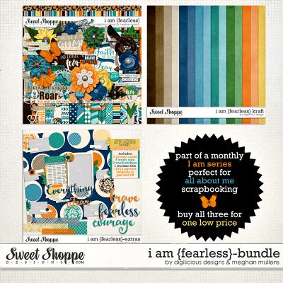 I Am {Fearless}-Bundle by Digilicious Designs & Meghan Mullens