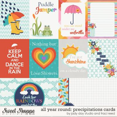 All Year Round: Precipitations Cards by Traci Reed and Jady Day Studio