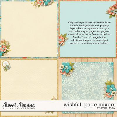 Wishful: Page Mixers by Amber Shaw