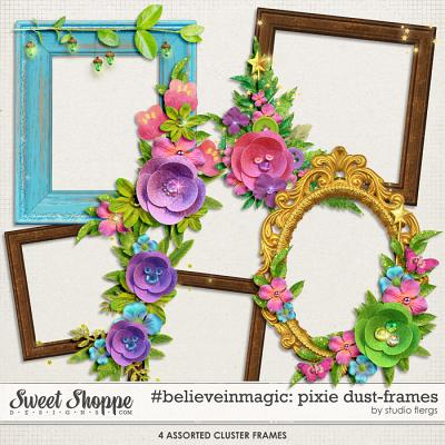 #believeinmagic: PIXIE DUST: FRAMES by Studio Flergs