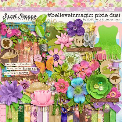 #believeinmagic: Pixie Dust by Amber Shaw & Studio Flergs