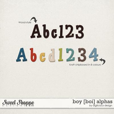 Boy Alphas by Digilicious Design