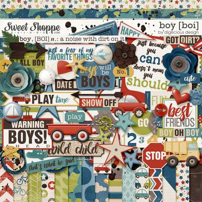 Boy Kit by Digilicious Design