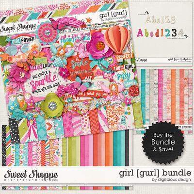 Girl Bundle by Digilicious Design