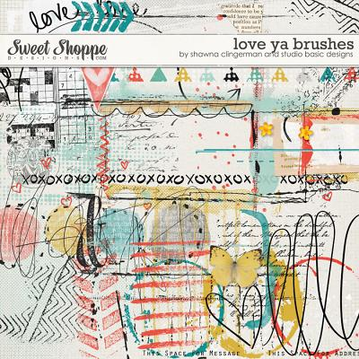 Love Ya Brushes by Shawna Clingerman and Studio Basic Designs