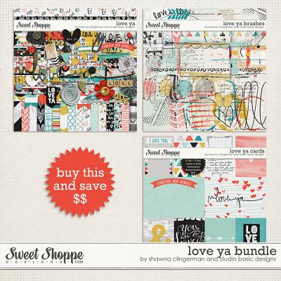 Love Ya Bundle by Shawna Clingerman and Studio Basic Designs