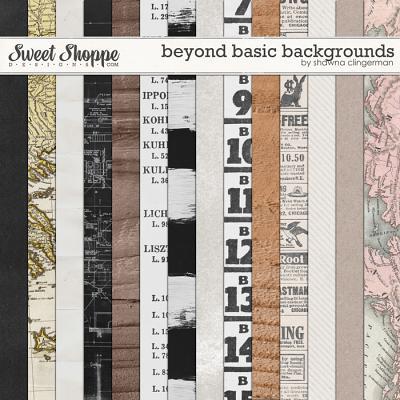 Beyond Basic Backgrounds by Shawna Clingerman