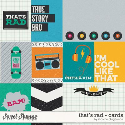 That's Rad Cards by Shawna Clingerman