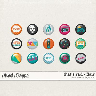That's Rad Flair by Shawna Clingerman